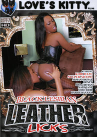 Black Lesbian Leather Licks 01