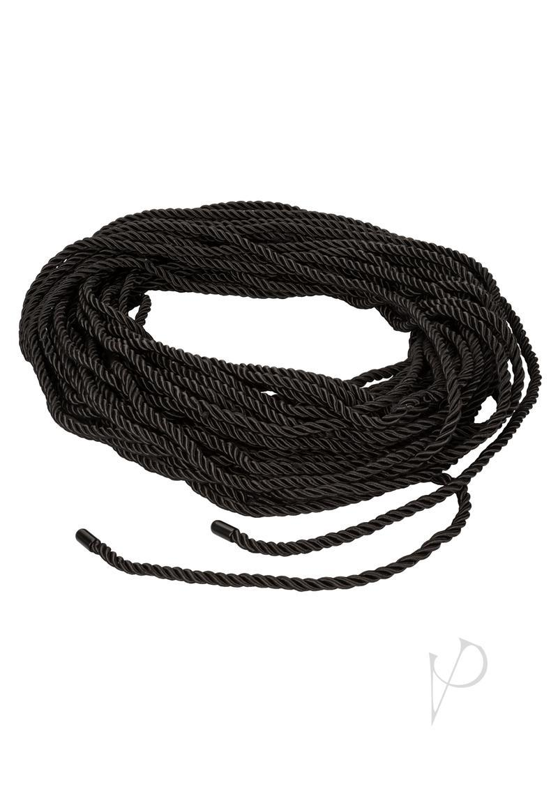 Scandal Bdsm Rope 98.5 Feet Bondage Black